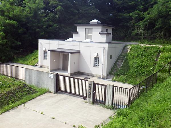 金沢市松根配水池