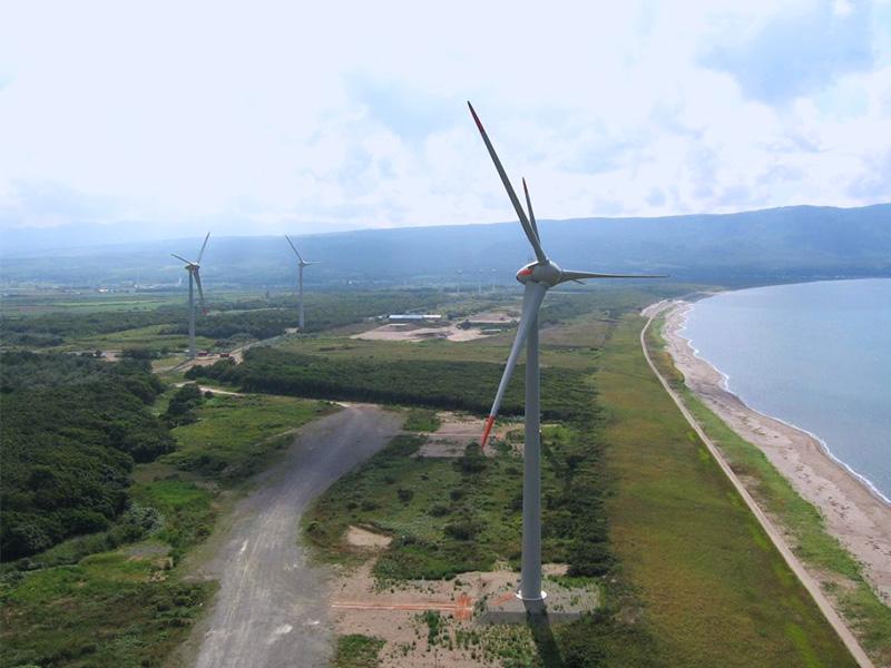 風力発電(北海道寿都町)