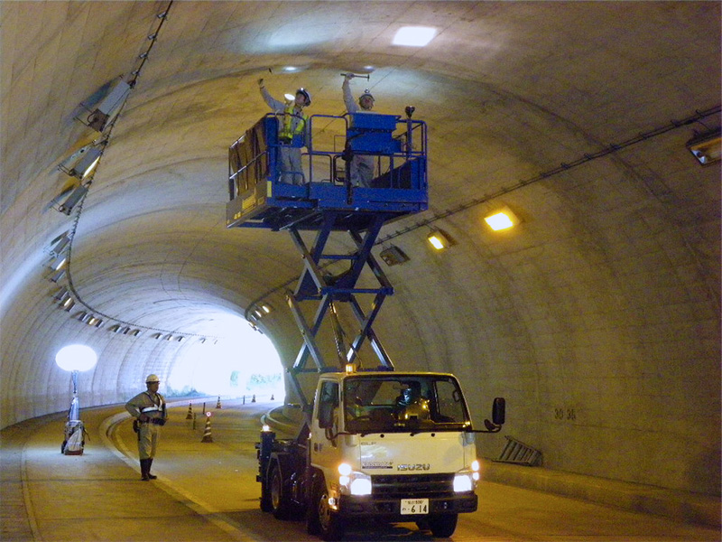 トンネル点検