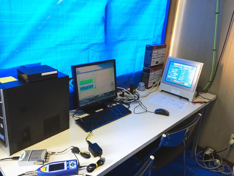 騒音計測設備