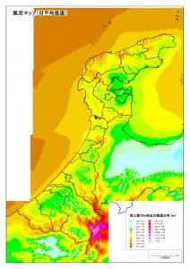 風況マップ_石川県